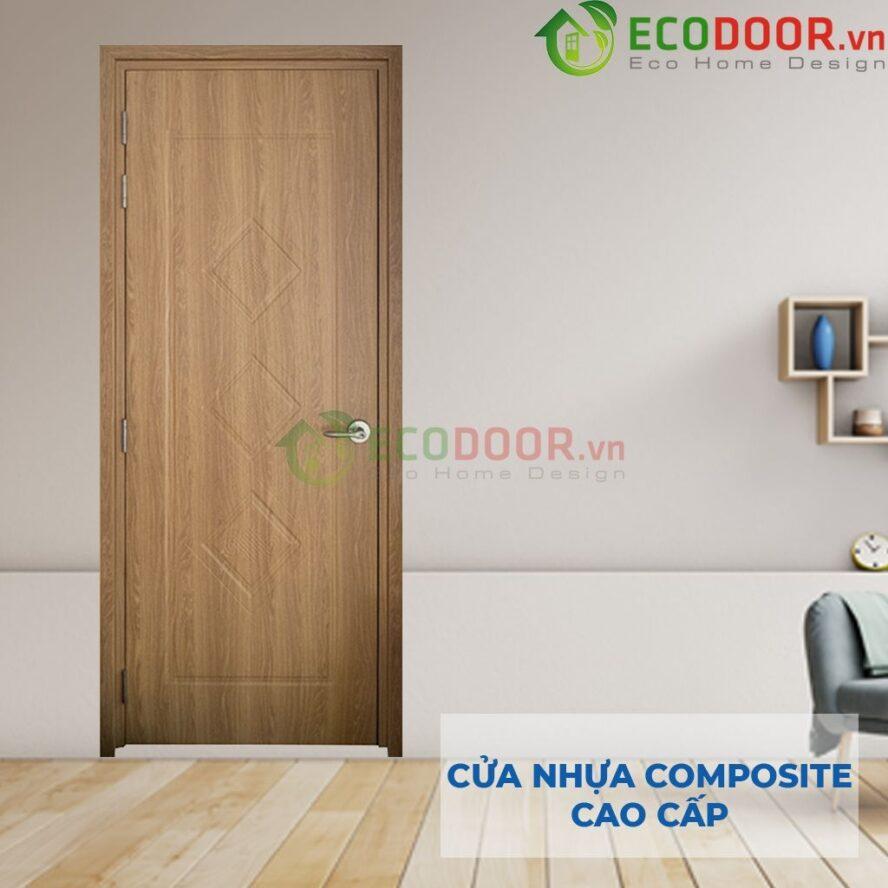 Cửa nhựa gỗ composite có tuổi thọ cao và độ bền tốt
